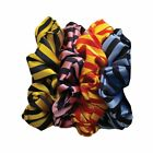 Equetech Broad Stripe Hair Womens Accessory Scrunchie - Navy Light Blue One Size