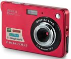 """AbergBest 21 Mega Pixels 2.7"""" LCD Rechargeable HD Digital Camer... Free Shipping"""