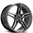 "4New 21"" Savini Wheels SV-F3 Gunmetal Rims FS"