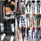Women Sporty Gym Yoga Workout Leggings Fitness Trousers Athletic Training Pants