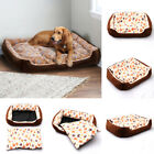 Soft Plush Pet Bed For Dogs Bench Soft Cats Lounger Sleeping Mattress Washable