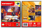 Turok: Rage Wars - Nintendo 64 N64 Custom Case *NO GAME*