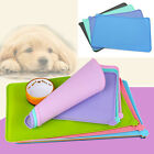 Silicone Puppy Dog Placemat Pet Cat Dish Bowl Feeding Food Water Mat Wipe