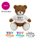 Personalised Name Congratulations Richard Teddy Bear Well done GCSE Exam Gifts