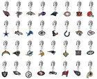 Pick Your Team - NFL 3D Football European Charm Bracelet Dangle Bead on eBay