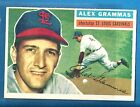 1956 TOPPS #37 ALEX GRAMMAS ST. LOUIS CARDINLS  WB  NRMT  SET BREAK