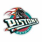 Detroit Pistons NBA Basketball Fan Vinyl Sticker for window, wall, car bumper on eBay