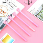 4Pcs/lot Cute Cartoon Pig Gel Pen Black Writting Pens Canetas Material Escolar