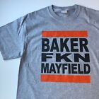 "Cleveland Browns Baker ""Freakin'"" Mayfield T-shirt Funny Football #6 Dawg Pound"