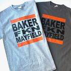 """Cleveland Browns Baker """"Freakin'"""" Mayfield T-shirt Funny Football #6 Dawg Pound $15.99 USD on eBay"""