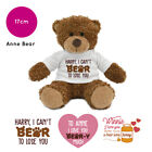Personalised Anne Name Teddy Bear Pun Funny Valentines Day Gifts for Him Her