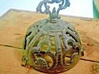Old Vintage Antique Victorian Cast Iron Front Holder Oli Lamp Parts
