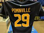 Football Fanatics Buffalo Sabres Jason Pominville NHL Player T Shirt, Navy $29.99 USD on eBay