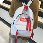 US Women Girls Backpack Rucksack Travel Satchel Laptop Shoulder Bag