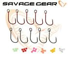 New Savage Gear Kit S1 Single Hook 3/0 4/0 Predator Lure Fishing Perch Cod Bass