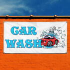 Vinyl Banner Sign Car Wash #1  Style F Automotive Marketing Advertising White $164.99 USD on eBay