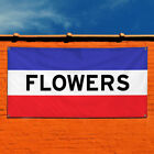 Vinyl Banner Sign Flowers #1  Style F Business Marketing Advertising White/Red $199.48 USD on eBay