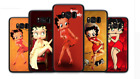 Sexy Girl Betty Boop Soft Black Case For Samsung S10 S9 S8 S7 - A3 A5 A6 A8 A9 $14.41 CAD on eBay