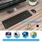 Portable Wireless Keyboard and Mouse Combo Water-Dropping Keys For PC Laptop Mac