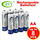 Lot of 4-20pcs BTY AA 2A Rechargeable Battery Ni-MH 1.2V 3000mAh LED USPS Ship