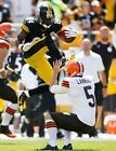 Pitsburgh Steelers Antonio Brown Unsigned 16x20 Photo