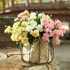 Artificial Silk Flowers Carnation Bouquets 10 Head Fake Floral Home Party Decor