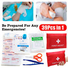 8 Types First Aid Kit Set Bag Emergency Medical Survival Treatment Rescue Box