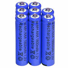 8PC 1.2V Ni-MH AAA Rechargeable Batteries for Panasonic Cordless Phones From USA