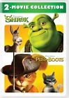 Shrek/Puss N Boots 2 Movie Collection DVD Mike Meyers John Lithgow Cameron Diaz