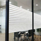 Decoration window film for office glass wall, white frosted blinds pattern