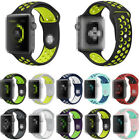 38mm/44mm For Apple Watch Series 4 3 2 Soft Silicone Sport Wrist Band Wristband image