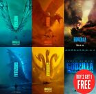 Godzilla: King of the Monsters 2019 Poster Print A0-A1-A2-A3-A4-A5-A6-MAXI C401
