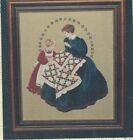 Lavender & Lace Victorian themed Brides, Ladies cross stitch charts, your choice