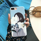 Oil For 7 8 Phone X Painting iPhone Art Plus Character Abstract 6 6S Case Girl
