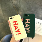 """6s Back Cover Case Phone Creative Letter""""HAY"""" for 7 Full Plus Soft Shell iphone6"""