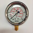 "PRESSURE GAUGE HYDRAULIC 10BAR to 700BAR 2.5"" / 63MM  AIR/WATER SUIT"