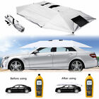 Universal Outdoor Manual Car Tent Umbrella Roof Sunshade Cover UV Protection Lot