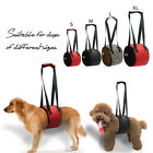 Dog Lift Harness Limping Assist Sling Canine Veterinarian Approved Aid Vest