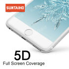 Suntaiho 5D Full Cover Tempered Glass for iPhone X 7 6s Plus XS Max Screen