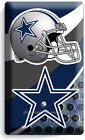 ☆ DALLAS COWBOYS FOOTBALL TEAM STAR LIGHT SWITCH OUTLET PLATES MAN CAVE BEDROOM