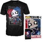 Funko POP T-Shirt HARLEY QUINN Diamond Queen DC Comics Tees Brand NEW   XS - 2XL image