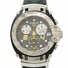 TISSO T Race TO11417 SS Quartz Mens from Japan [a0225]