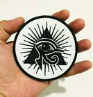 Eyes of Horus Fairy Seeing Triangle Egyp Symbol Embroidered Iron On Sew Patches