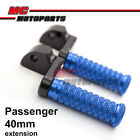 CNC 40mm Extension Adjustable Rear Foot Pegs For Triumph Bonneville SE T1000 $39.88 USD on eBay