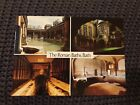 The Roman Baths, Bath -  Vintage Postcard