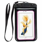 Sumaclife Waterproof Carrying Case Pouch Bag with Strap fits Apple iPhone 6S Plu