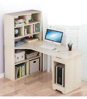 Computer Desk PC Laptop Table Workstation Study Home Office Furniture + Shelves