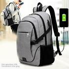 Fashion Anti-theft Laptop Travel Backpack With USB Charging Port Business Bag