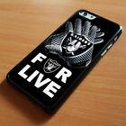NEW OAKLAND RAIDERS iPhone 6/6S 7 8 Plus X/XS Max XR Case Cover $15.9 USD on eBay
