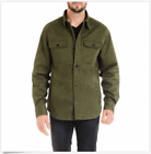 Jachs Mens Flannel Lined Shirt Jacket